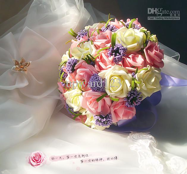 how to make artificial wedding bouquets photo - 1