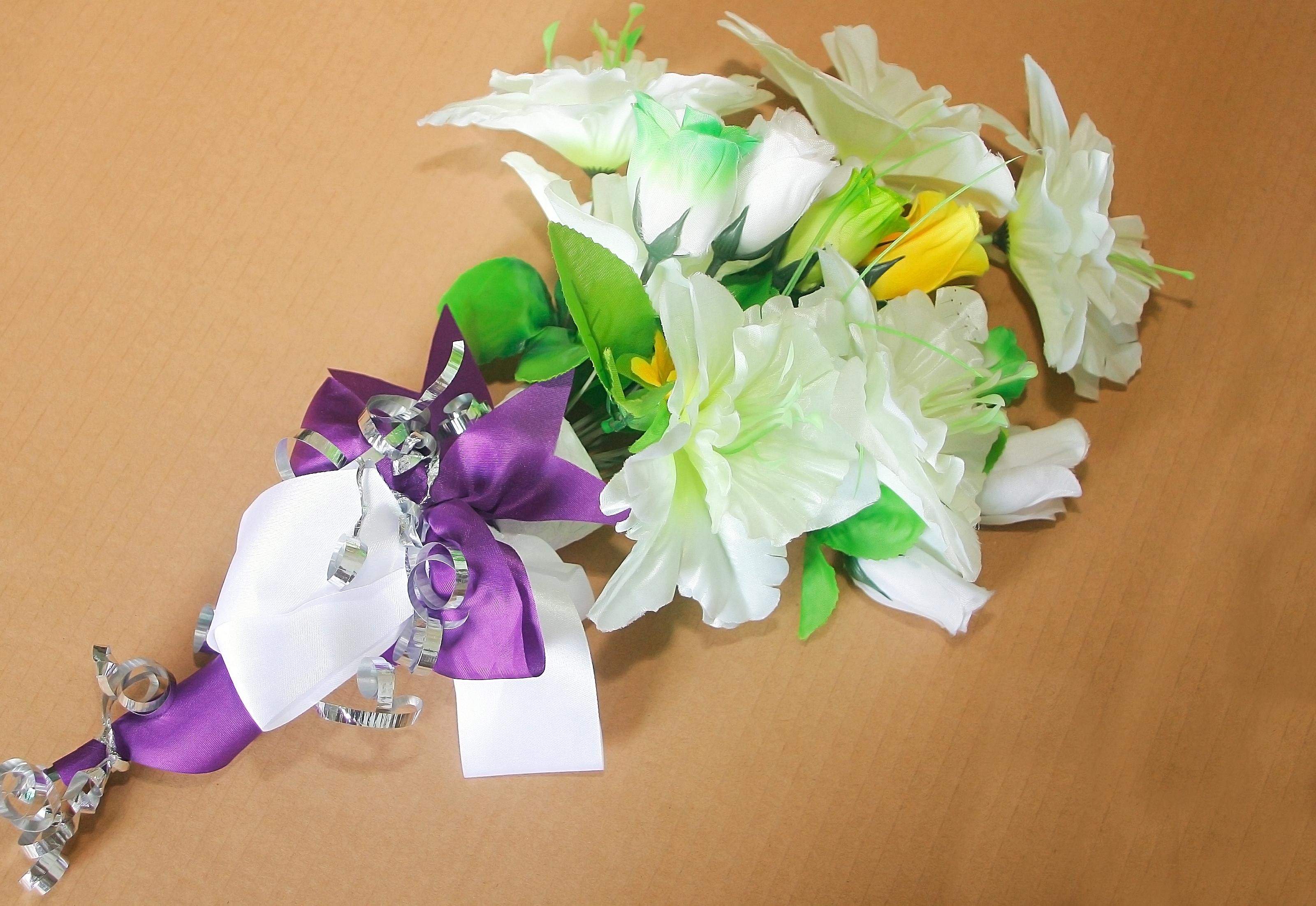 how to make wedding flowers photo - 1