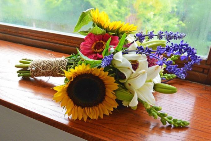 how to make your own wedding bouquets photo - 1