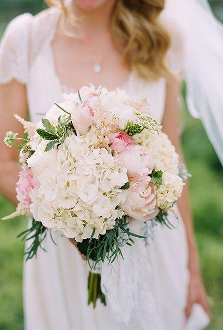 hydrangea bridal bouquets photo - 1