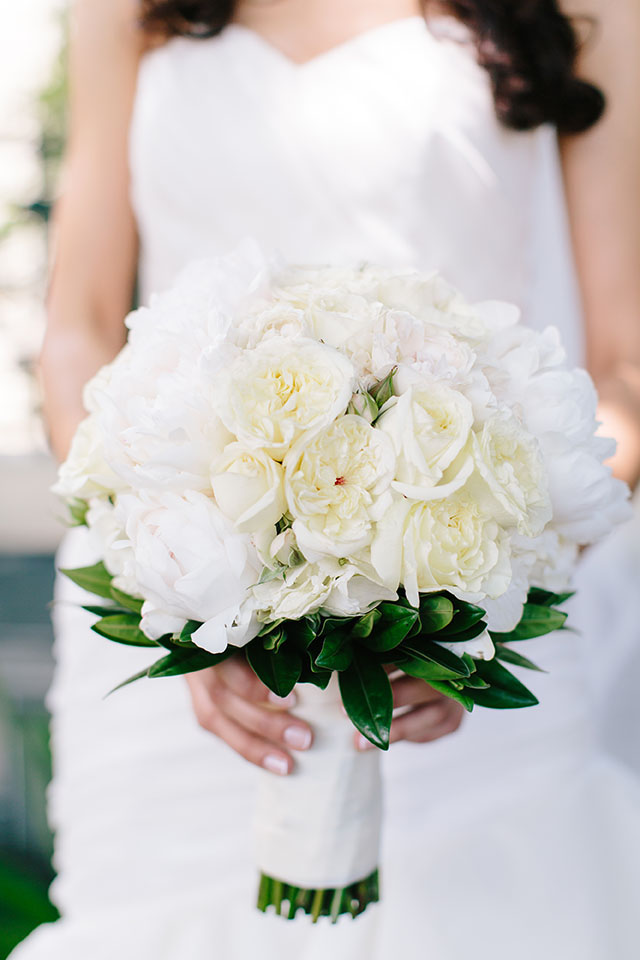hydrangea wedding bouquet photo - 1
