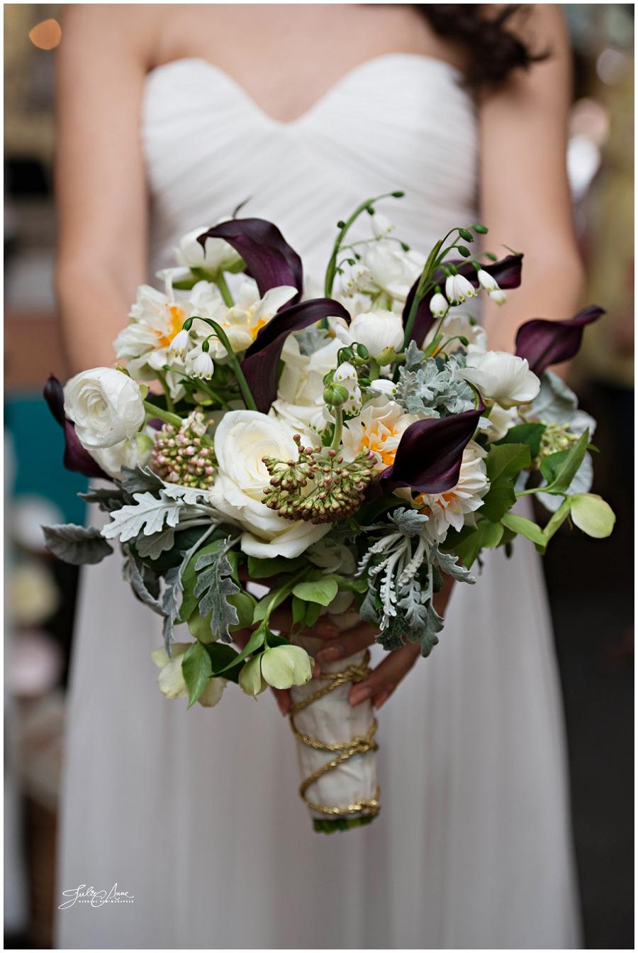hydrangea wedding bouquets photo - 1