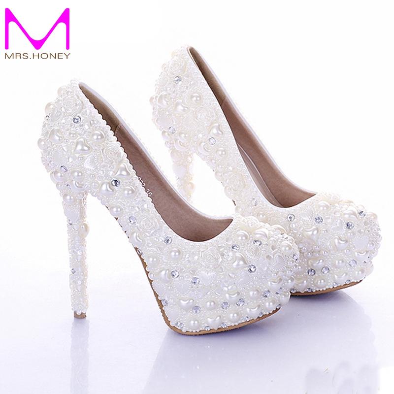 ivory colored wedding shoes photo - 1
