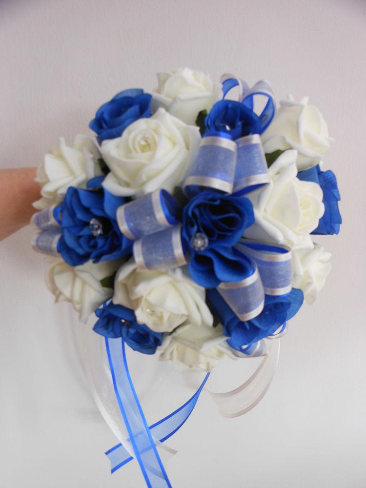 ivory wedding bouquets photo - 1