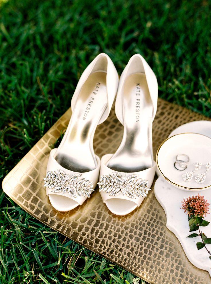 ivory wedding shoes photo - 1