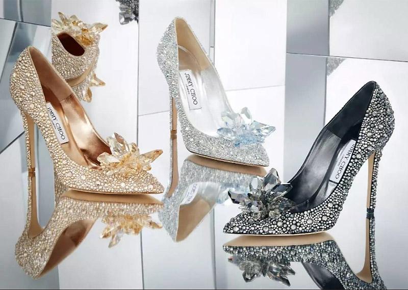 jimmy choo crystal wedding shoes photo - 1