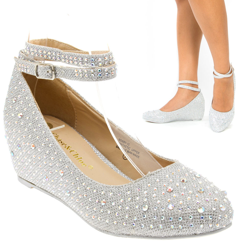 low wedge wedding shoes photo - 1