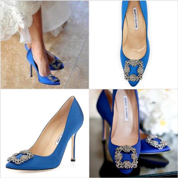 manolo blahnik bridal shoes photo - 1