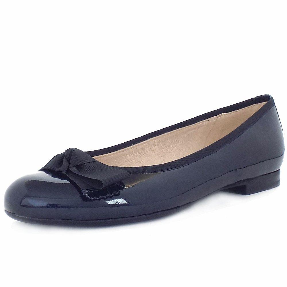 navy blue flat wedding shoes photo - 1
