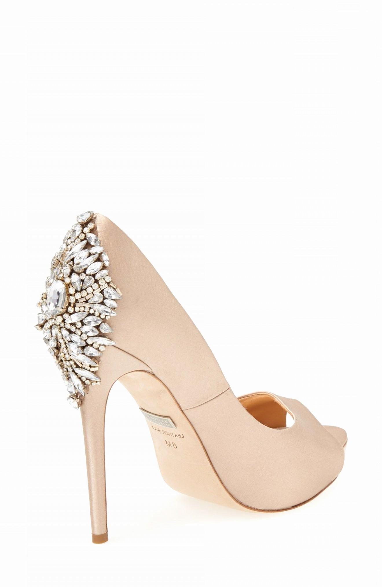 nordstrom badgley mischka bridal shoes photo - 1