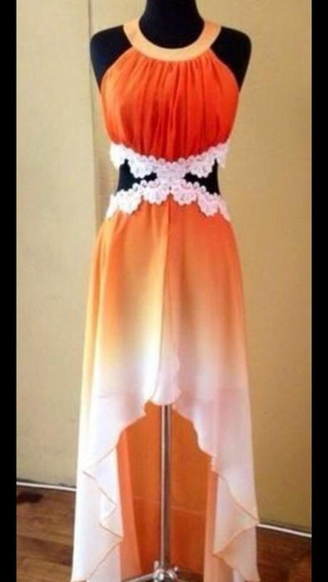 orange bridal shoes photo - 1