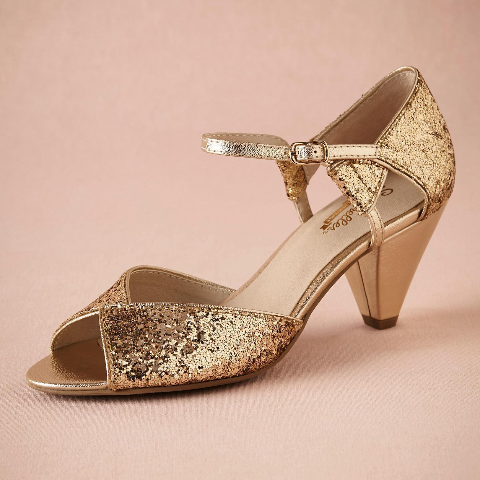 pewter shoes for wedding photo - 1