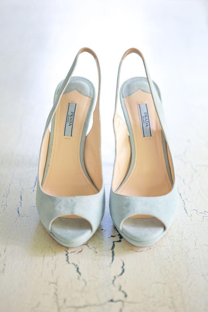 prada bridal shoes photo - 1