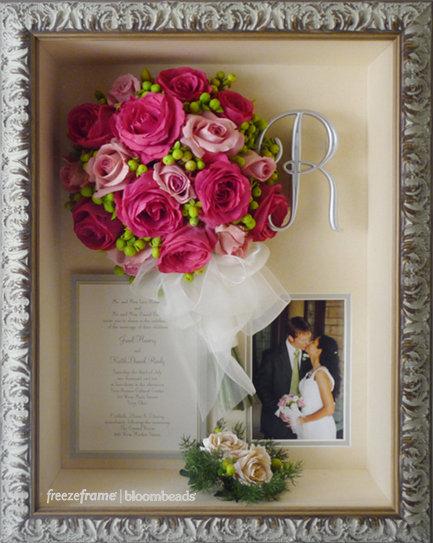 preserved wedding flowers photo - 1