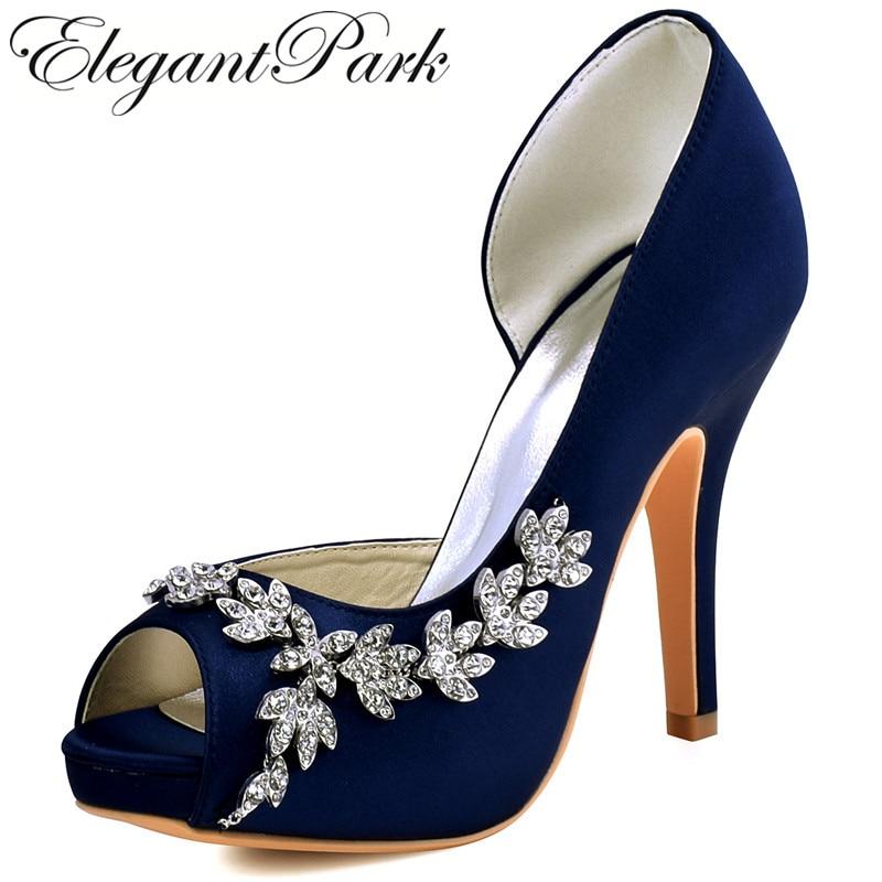 purple bridal shoes low heel photo - 1