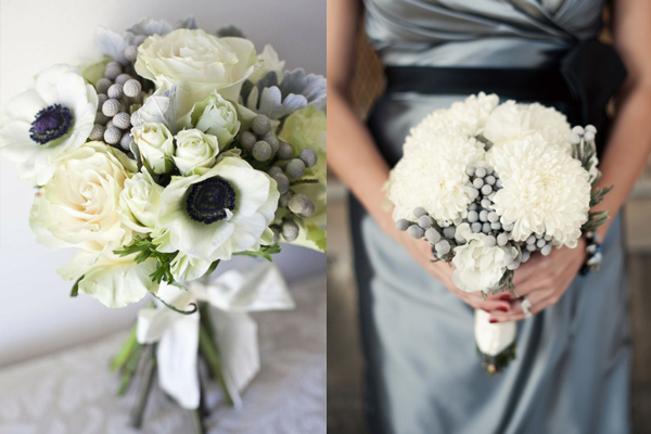 purple wedding bouquets for sale photo - 1