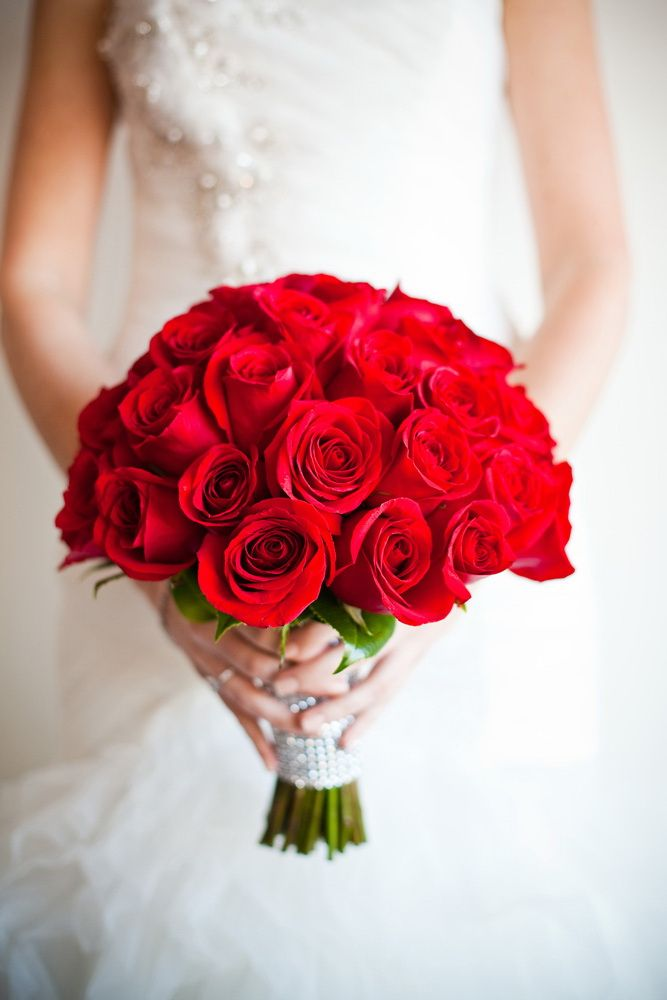 red rose wedding bouquets pictures photo - 1