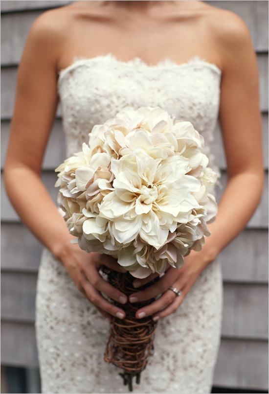 rustic country wedding bouquets photo - 1