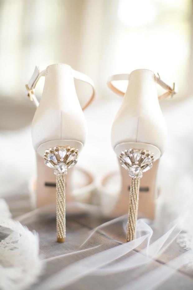 sergio rossi bridal shoes photo - 1