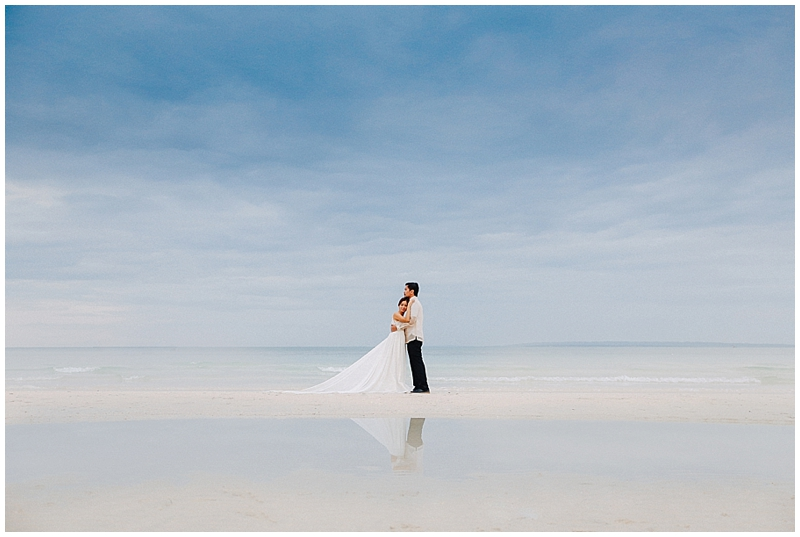 shoes beach wedding photo - 1