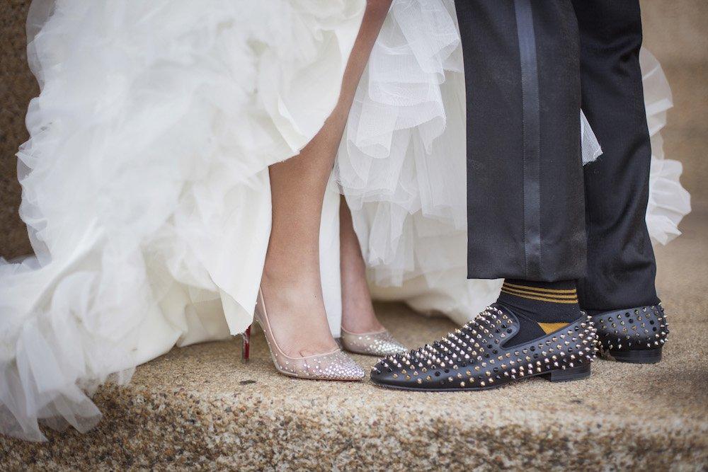 shoes for ivory wedding dress photo - 1