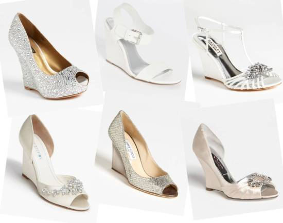 shoes for outdoor wedding on grass photo - 1