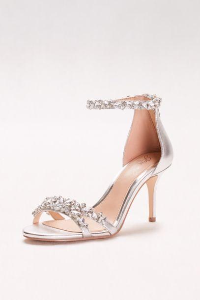short heel bridal shoes photo - 1