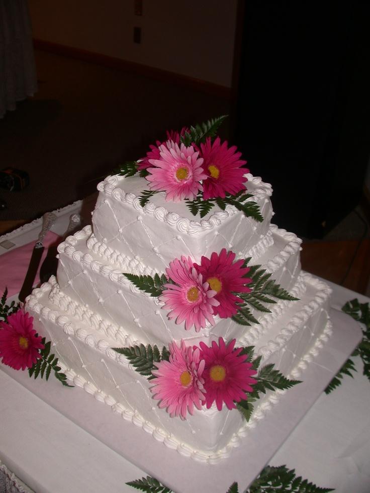 silk flowers for wedding cakes photo - 1