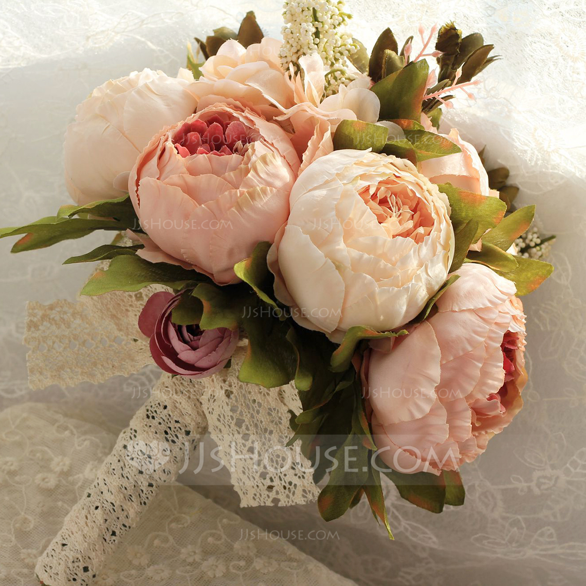 simple elegant wedding bouquets photo - 1
