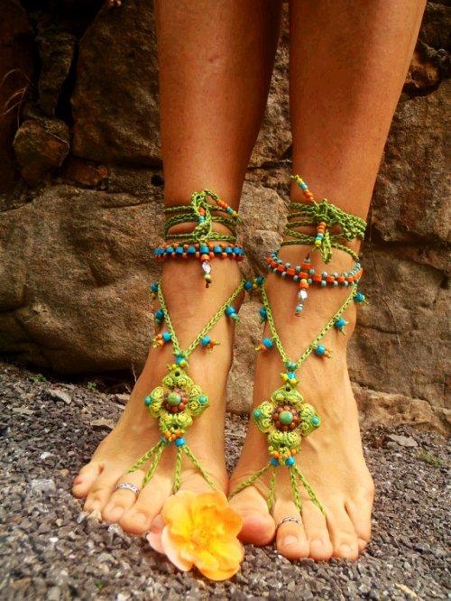 soleless wedding shoes photo - 1