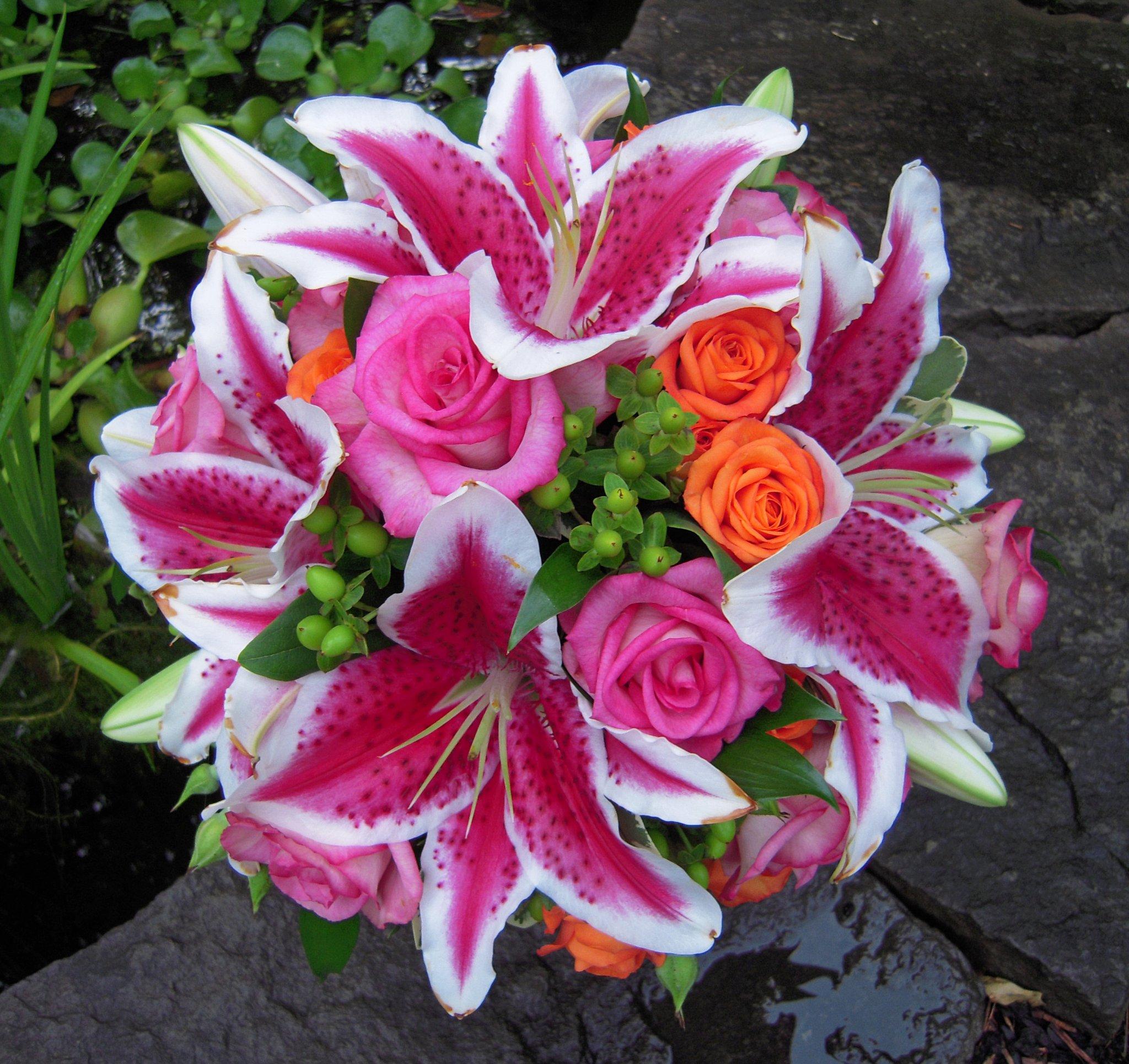 stargazer wedding bouquets photo - 1