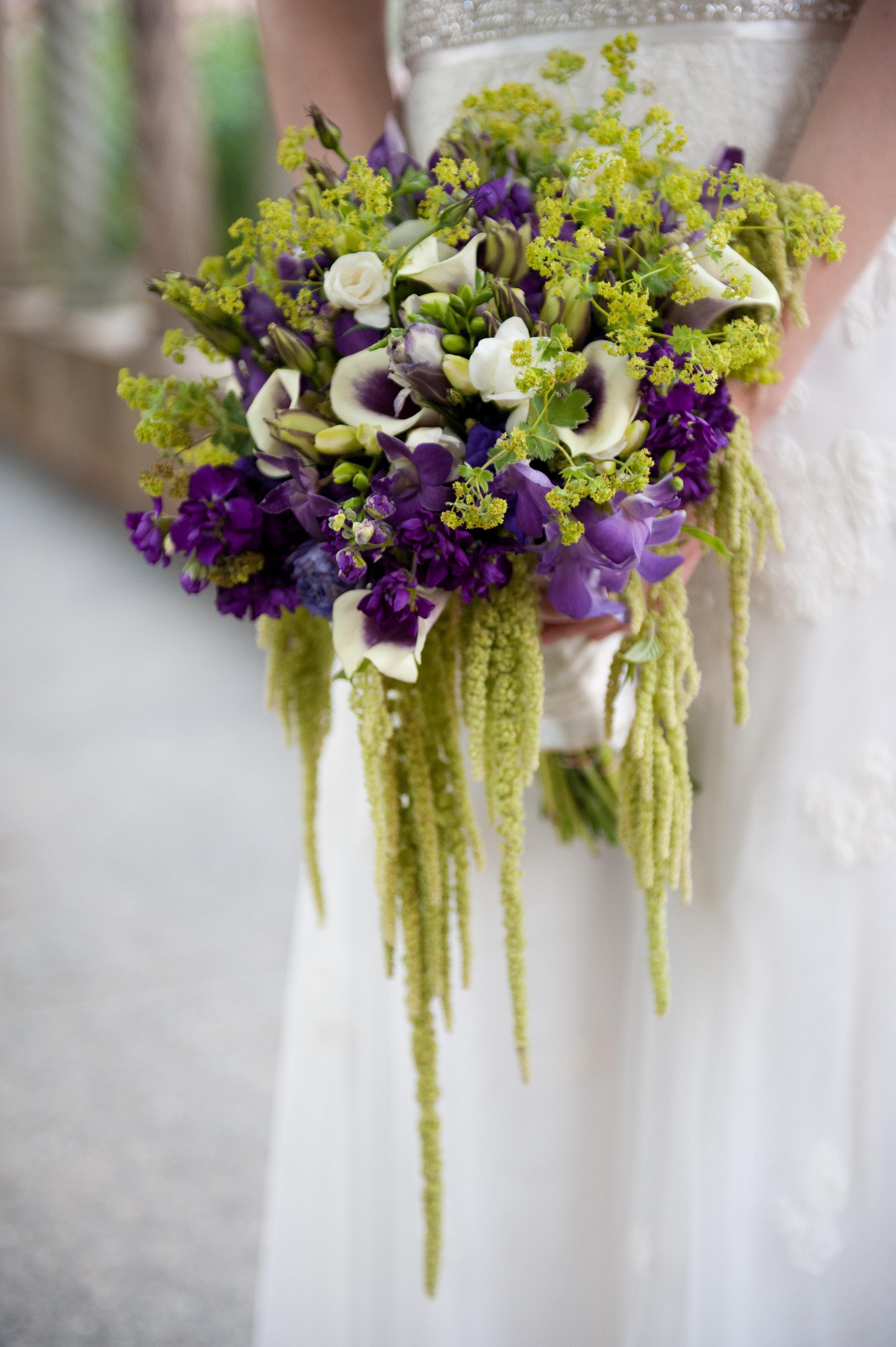 summer flowers wedding photo - 1