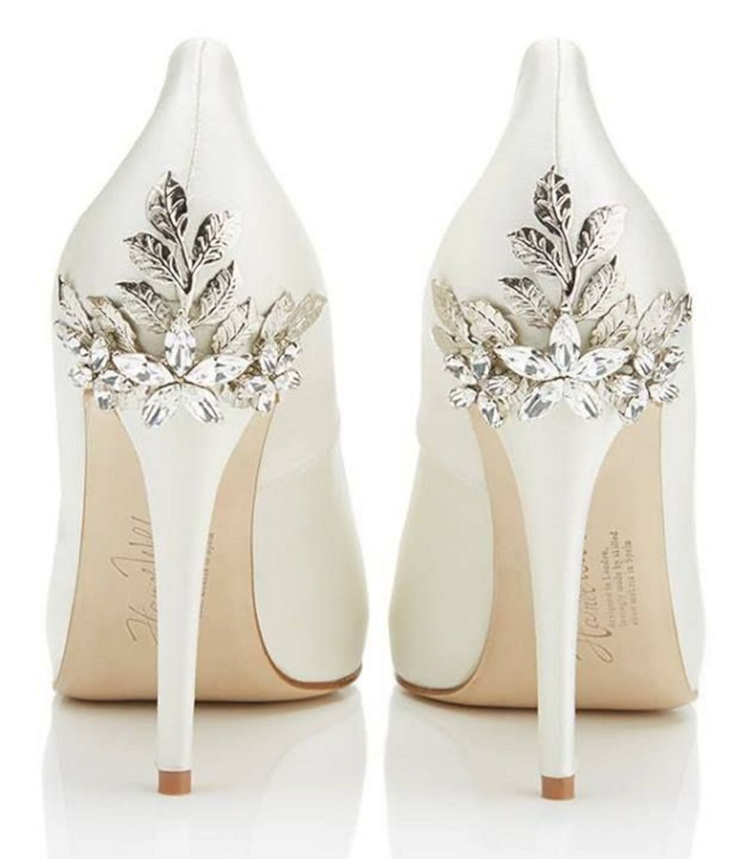 summer wedding shoes for bride photo - 1