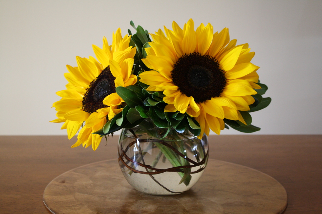 sunflower wedding bouquets pictures photo - 1