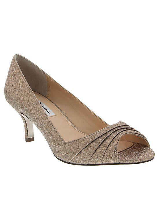 taupe wedding shoes photo - 1