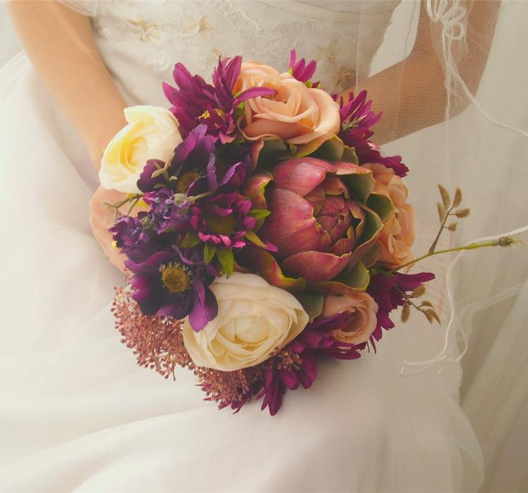 tulip wedding bouquets photo - 1
