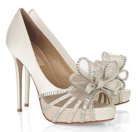 valentino bridal shoes photo - 1