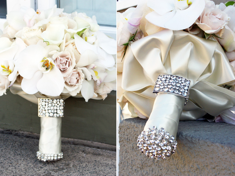 wedding bling bouquets photo - 1