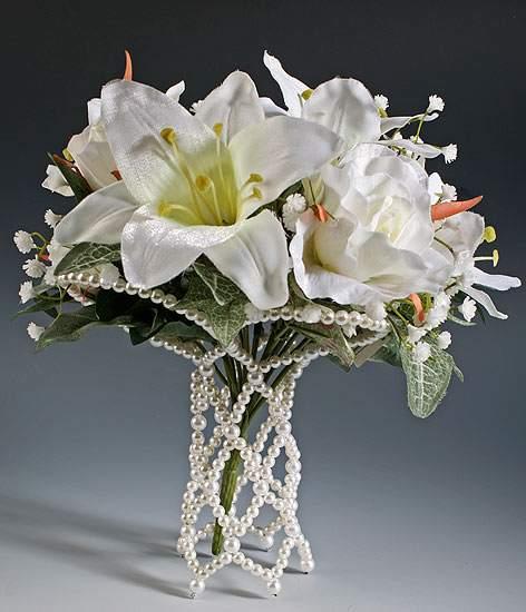 wedding bouquet holder photo - 1