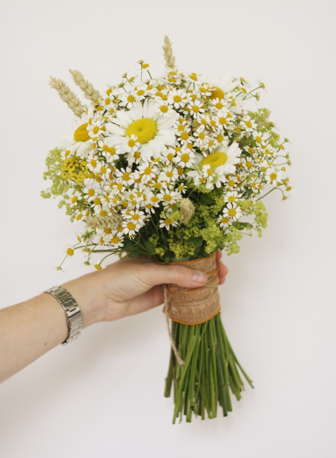 wedding bouquets daisy photo - 1