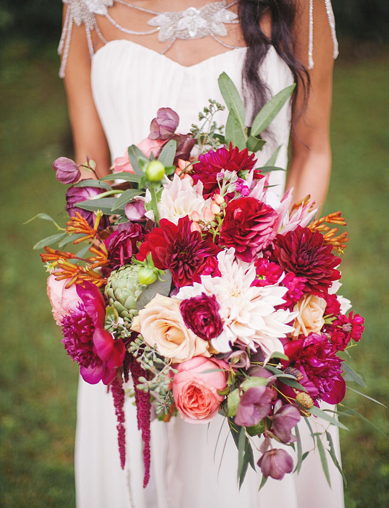 wedding bouquets jewels photo - 1