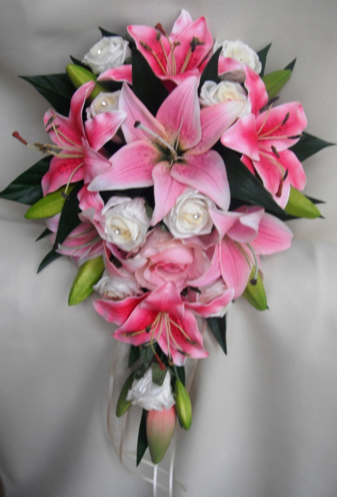 wedding bouquets made with calla lilies photo - 1
