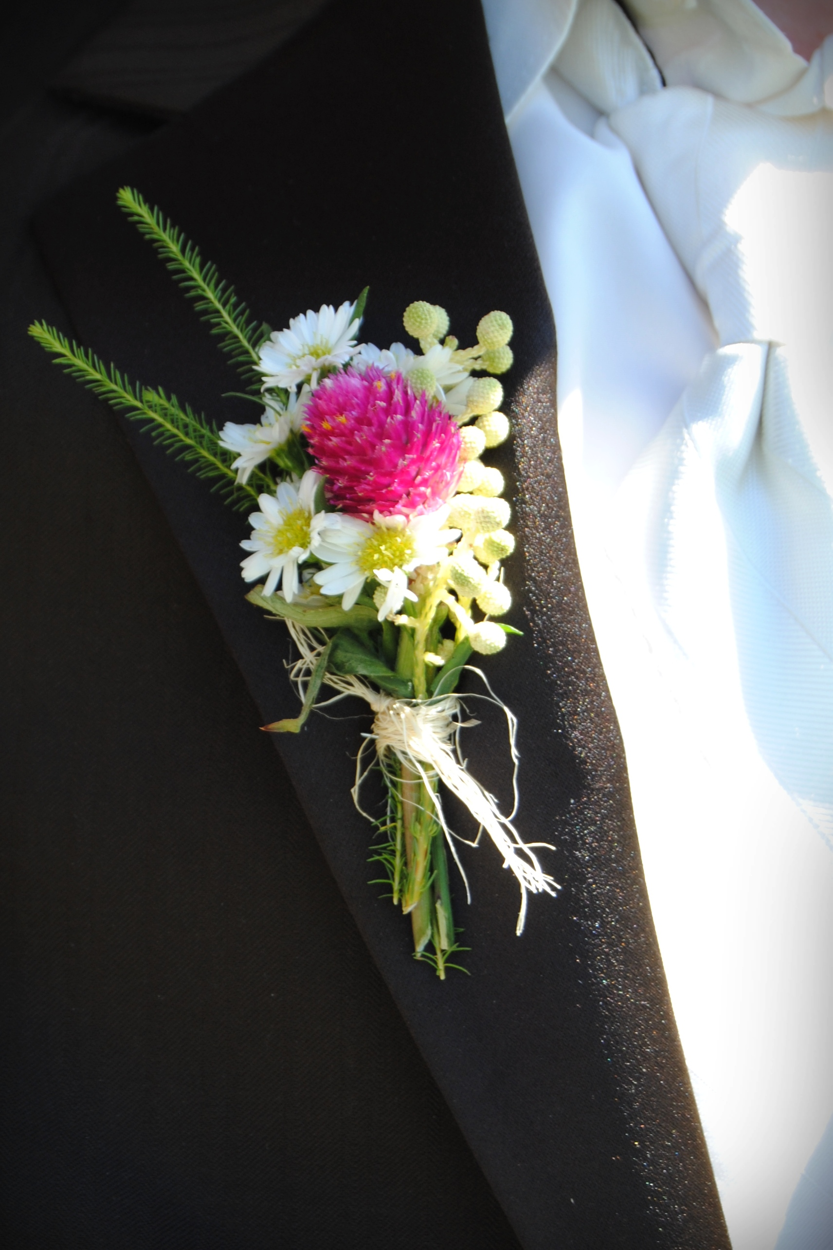 wedding bouquets pink and white photo - 1