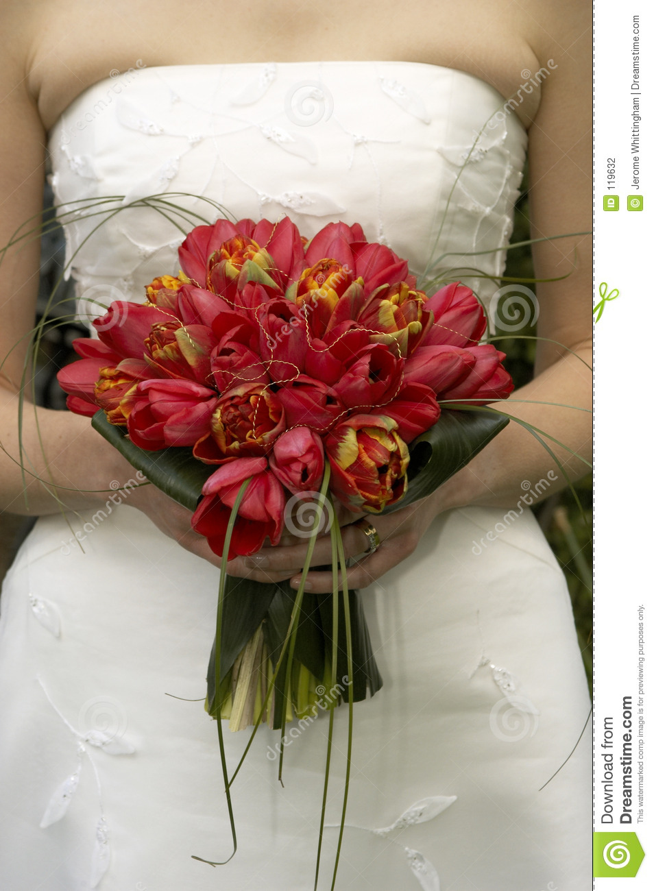 wedding bouquets tulips photo - 1