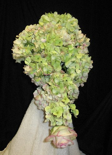 wedding bouquets with hydrangea photo - 1