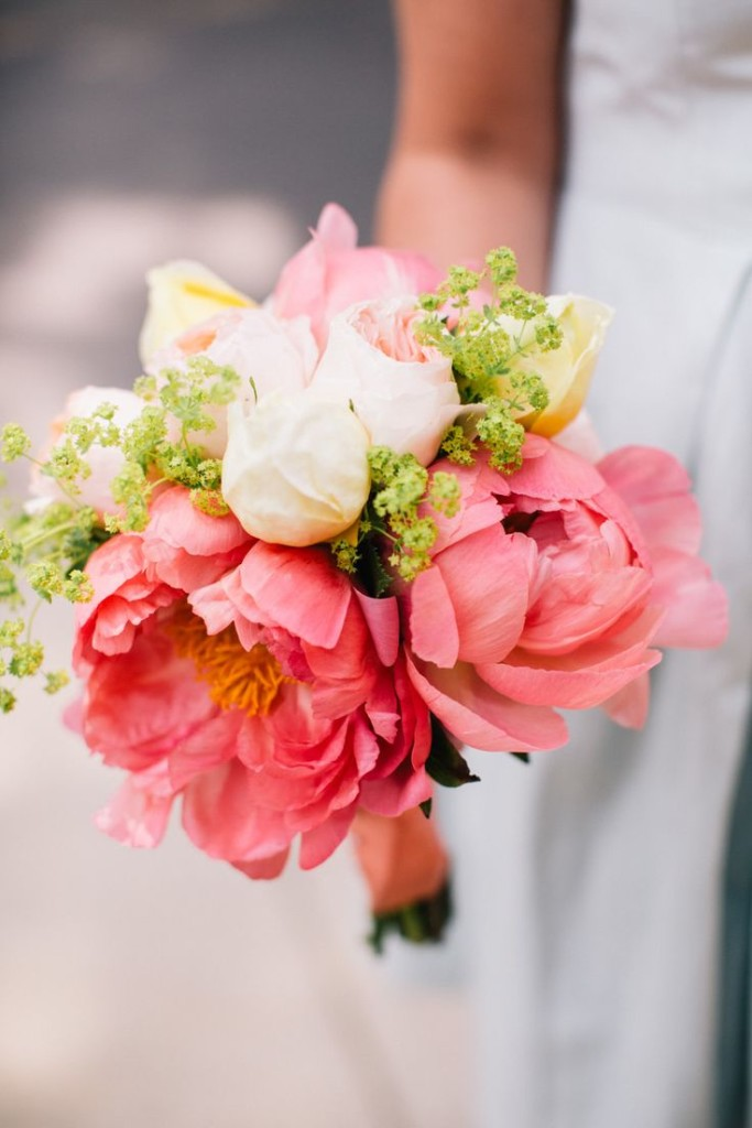 wedding bouquets with peonies photo - 1