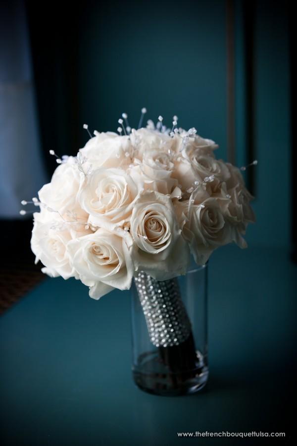 wedding bouquets with rhinestones photo - 1