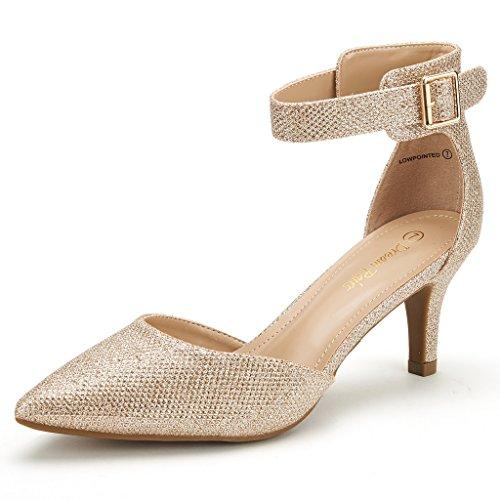 wedding dress shoes low heel photo - 1