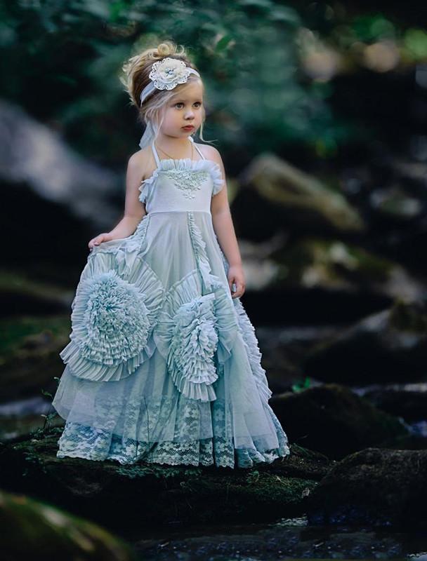 wedding dresses for flower girls photo - 1
