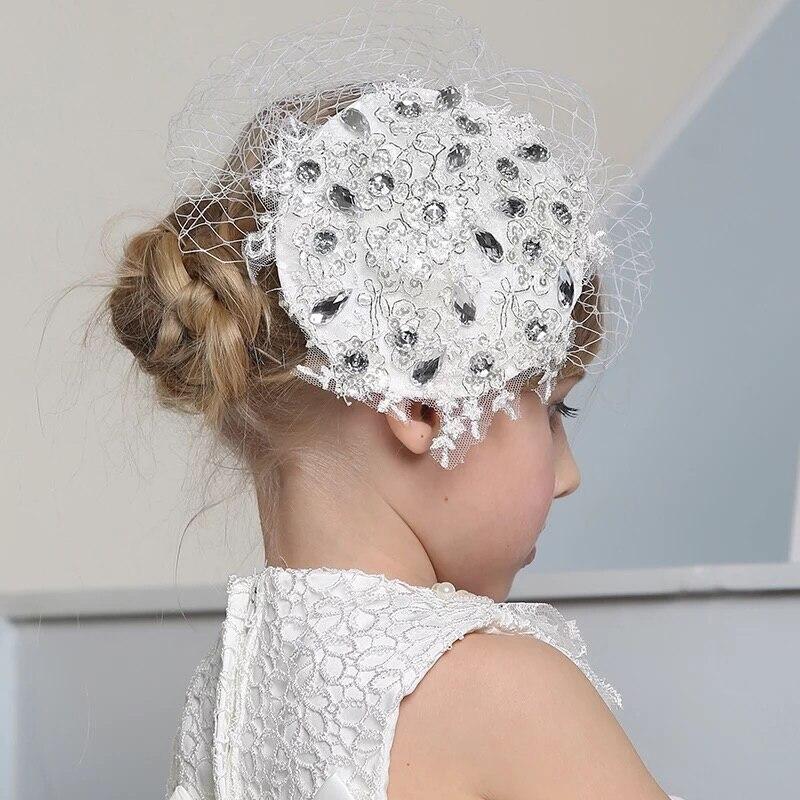 wedding flower headband photo - 1